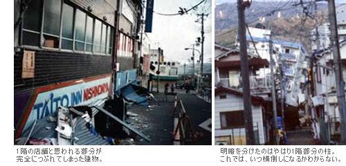 大地震の建物への影響