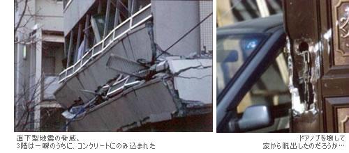 直下型地震による建物への影響